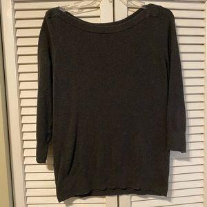 Gap, 3/4 sleeve cotton blend top!